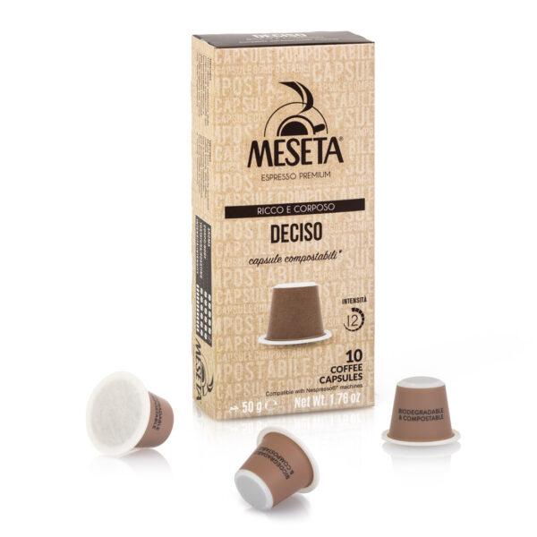 Nespresso* compatible compostable capsules