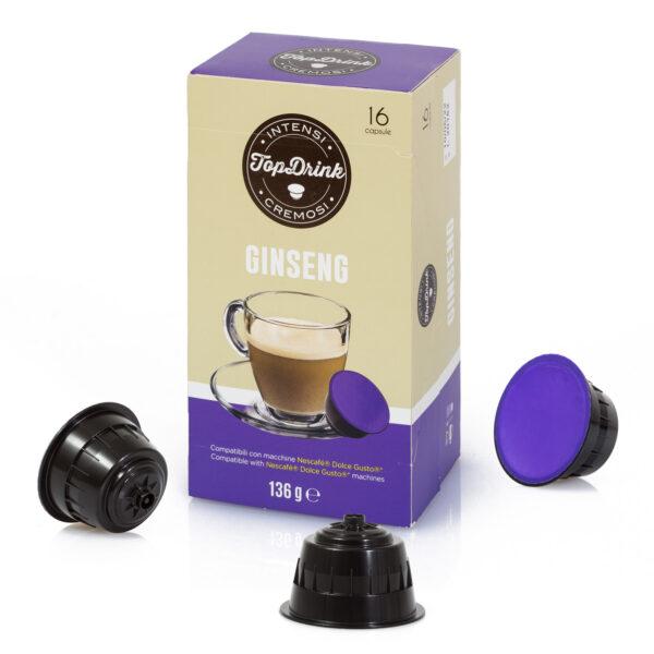 Nescafè Dolce Gusto* Top Drink compatible capsules